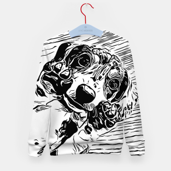 Thumbnail image of BEL-116 Kid's sweater, Live Heroes