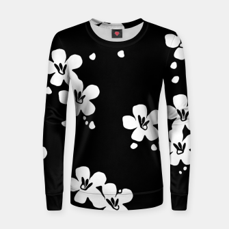 Thumbnail image of Sahara Street Dark Daisy Women sweater, Live Heroes