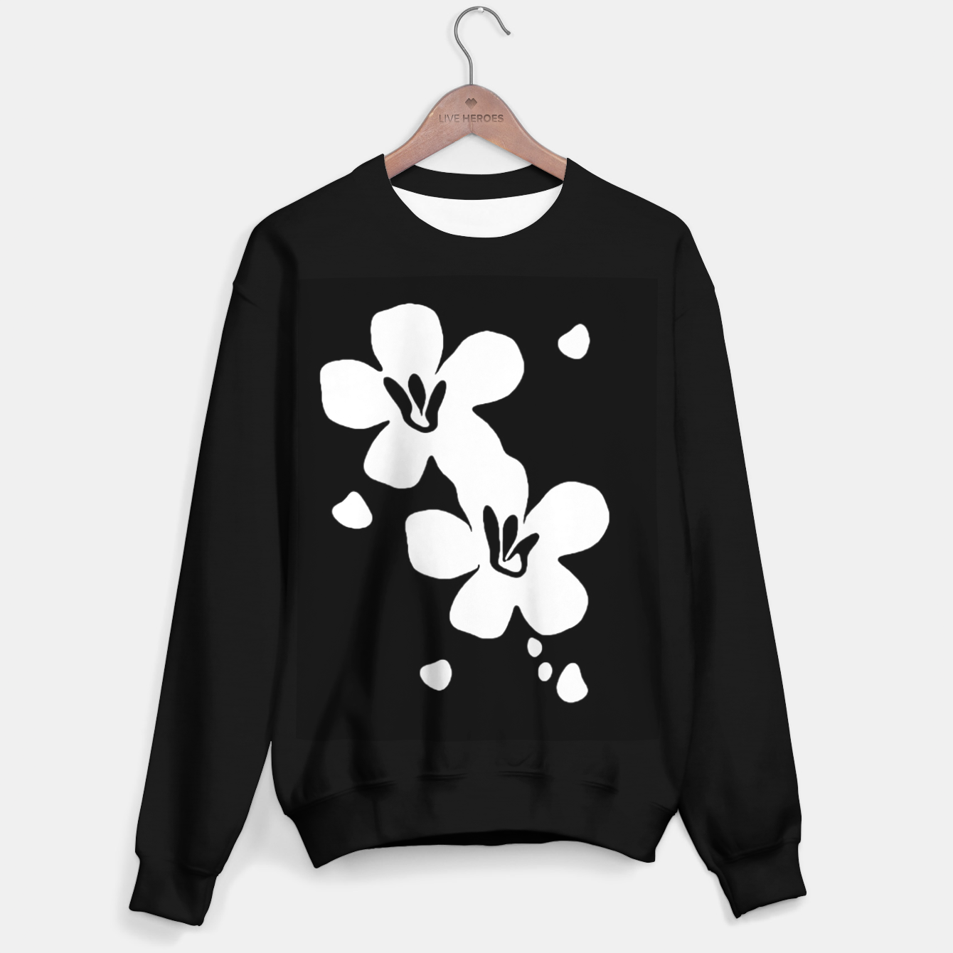 Image of Sahara Street Dark Daisy Sweater regular - Live Heroes