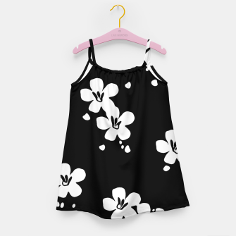 Sahara Street Dark Daisy Girl's dress thumbnail image