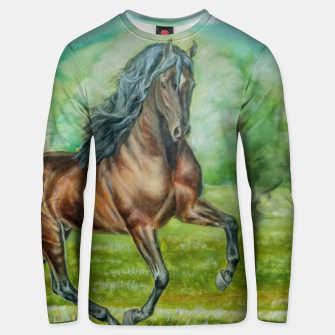 Miniaturka ANDALUSIAN HORSE - DH Bluza unisex, Live Heroes