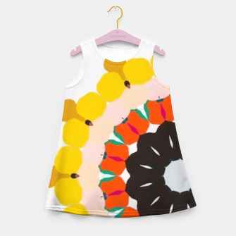 Thumbnail image of Sahara Street Sun Burst Girl's summer dress, Live Heroes