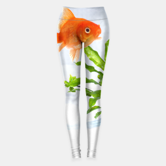Thumbnail image of Poisson Rouge Leggings, Live Heroes