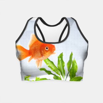 Miniature de image de Poisson Rouge Crop Top, Live Heroes