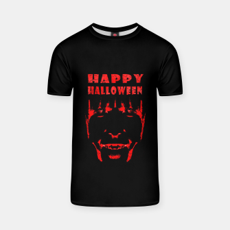 Thumbnail image of Happy Halloween Poster Artwork T-shirt, Live Heroes