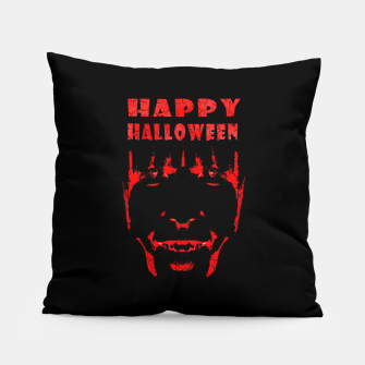 Thumbnail image of Happy Halloween Poster Artwork Pillow, Live Heroes