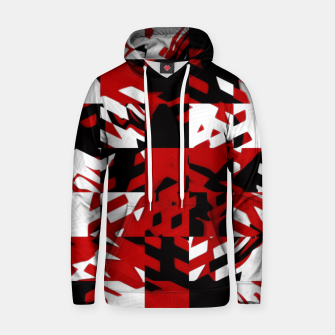 Thumbnail image of Red Abstract Pullover Hoodie, Live Heroes