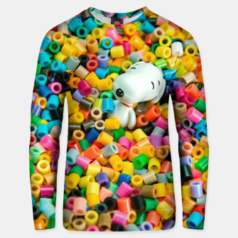 Miniatur Snoopy Beaded Bathtub Unisex sweater, Live Heroes