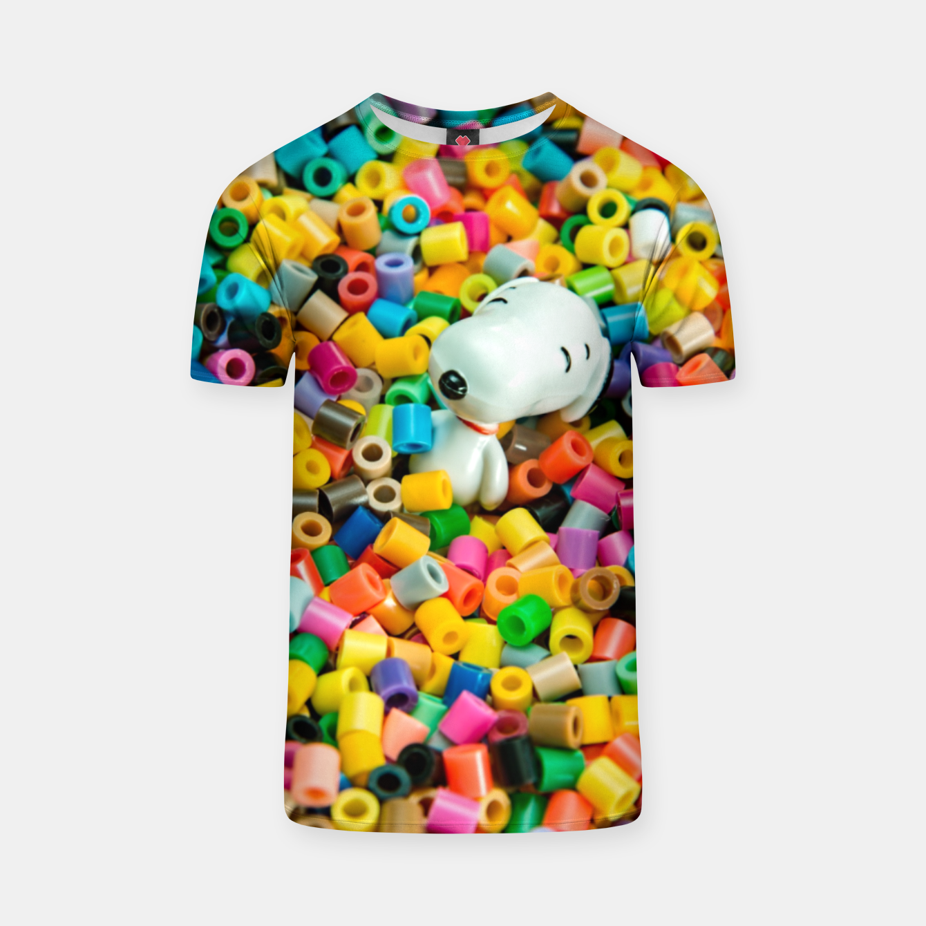 Foto Snoopy Beaded Bathtub T-shirt - Live Heroes