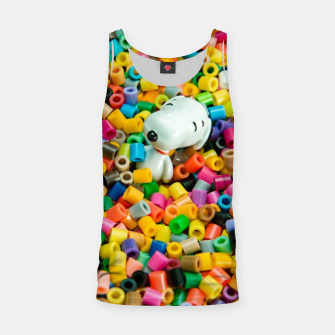 Snoopy Beaded Bathtub Tank Top Bild der Miniatur
