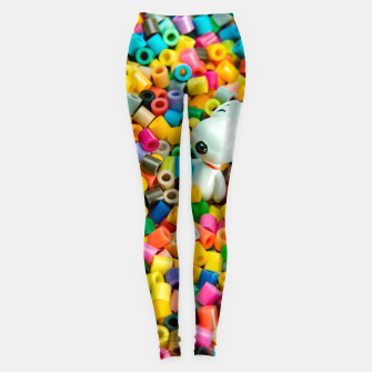 Snoopy Beaded Bathtub Leggings Bild der Miniatur