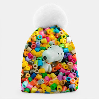 Snoopy Beaded Bathtub Beanie obraz miniatury