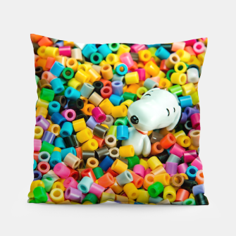 Snoopy Beaded Bathtub Pillow obraz miniatury
