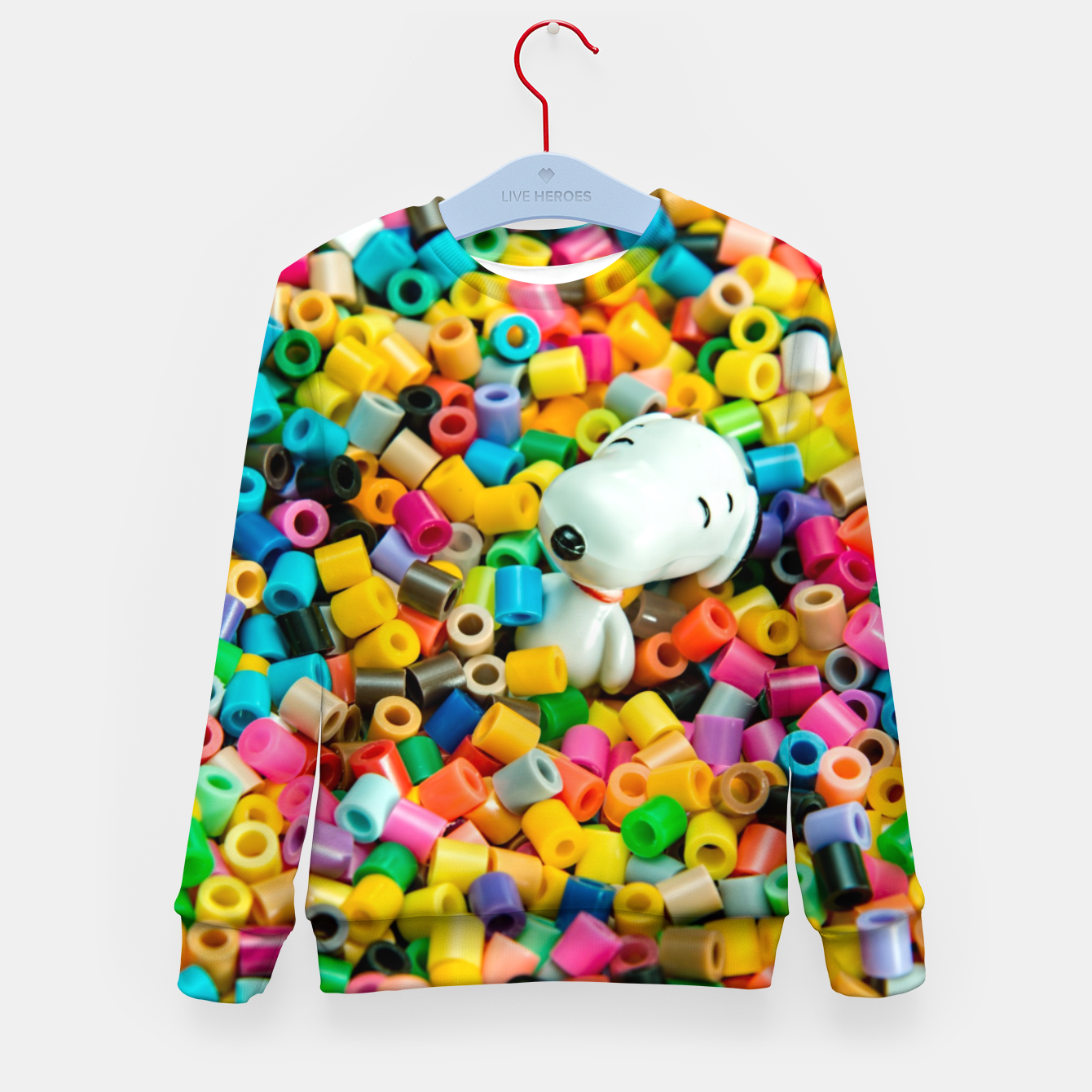Zdjęcie Snoopy Beaded Bathtub Kid's sweater - Live Heroes