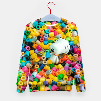 Thumbnail image of Snoopy Beaded Bathtub Kid's sweater, Live Heroes