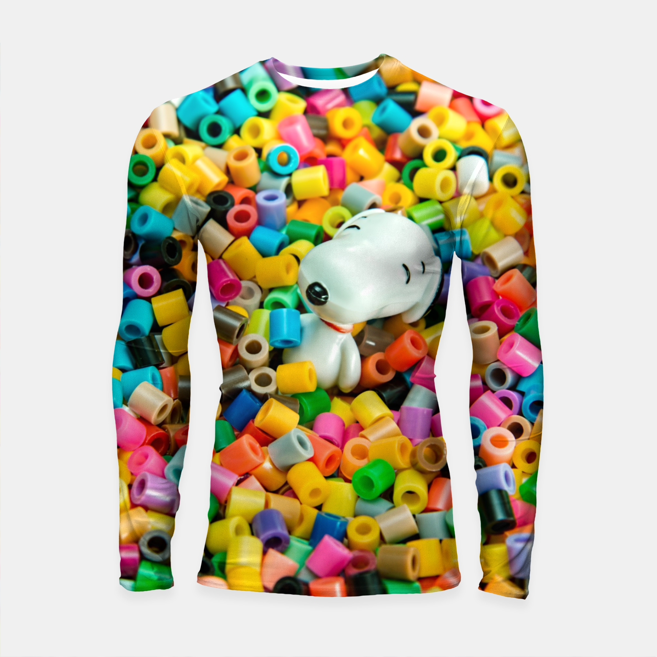 Image of Snoopy Beaded Bathtub Longsleeve rashguard  - Live Heroes