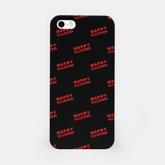 Thumbnail image of Happy Halloween Print Pattern iPhone Case, Live Heroes