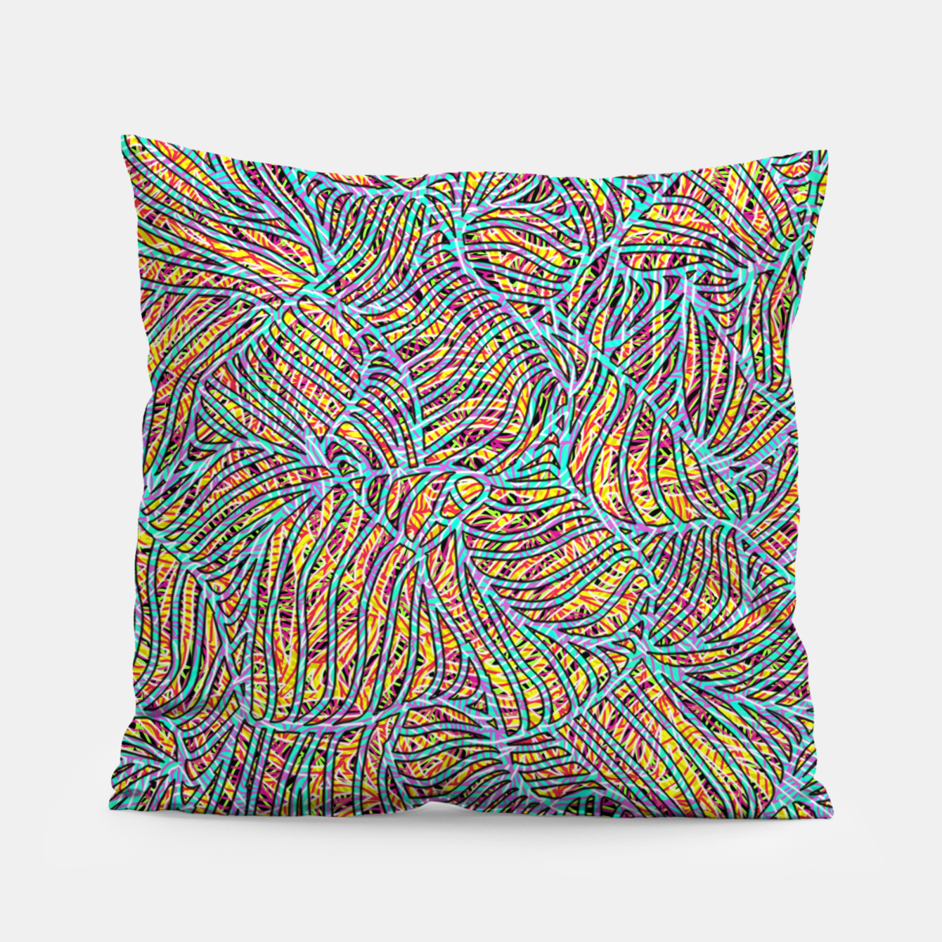 Image of ptrn Pillow - Live Heroes