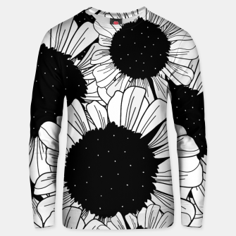 Star filled flowers Unisex sweater miniature