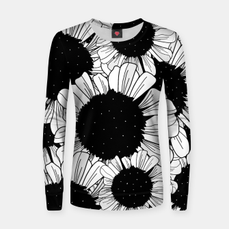 Thumbnail image of Star filled flowers Women sweater, Live Heroes