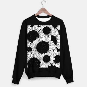 Miniature de image de Star filled flowers Sweater regular, Live Heroes