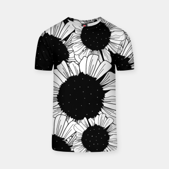 Thumbnail image of Star filled flowers T-shirt, Live Heroes