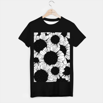 Thumbnail image of Star filled flowers T-shirt regular, Live Heroes