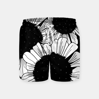 Star filled flowers Swim Shorts miniature
