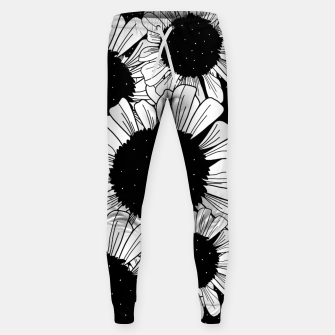 Thumbnail image of Star filled flowers Sweatpants, Live Heroes