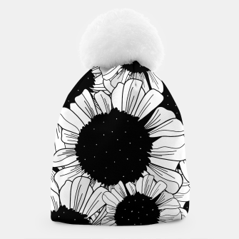 Star filled flowers Beanie miniature