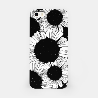 Miniature de image de Star filled flowers iPhone Case, Live Heroes