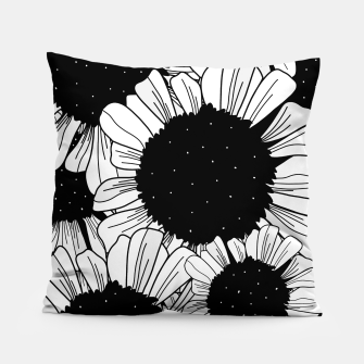 Thumbnail image of Star filled flowers Pillow, Live Heroes