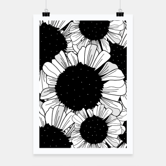 Miniature de image de Star filled flowers Poster, Live Heroes