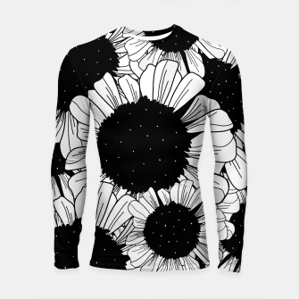 Thumbnail image of Star filled flowers Longsleeve rashguard , Live Heroes