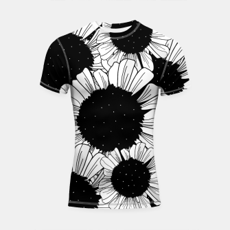 Thumbnail image of Star filled flowers Shortsleeve rashguard, Live Heroes