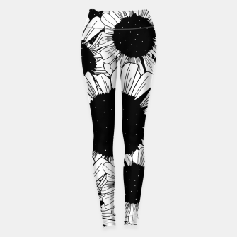 Thumbnail image of Star filled flowers Leggings, Live Heroes