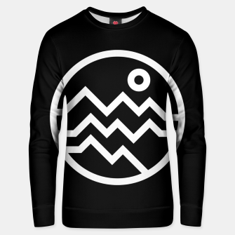 Thumbnail image of Mountain Bold Unisex sweater, Live Heroes