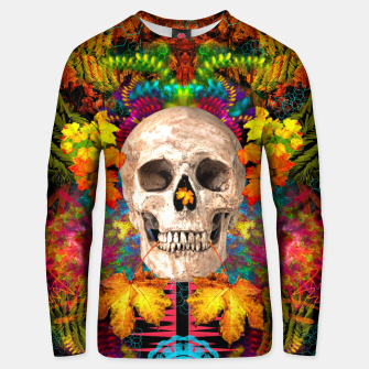 Thumbnail image of Harvest Skull 1 Unisex sweater, Live Heroes