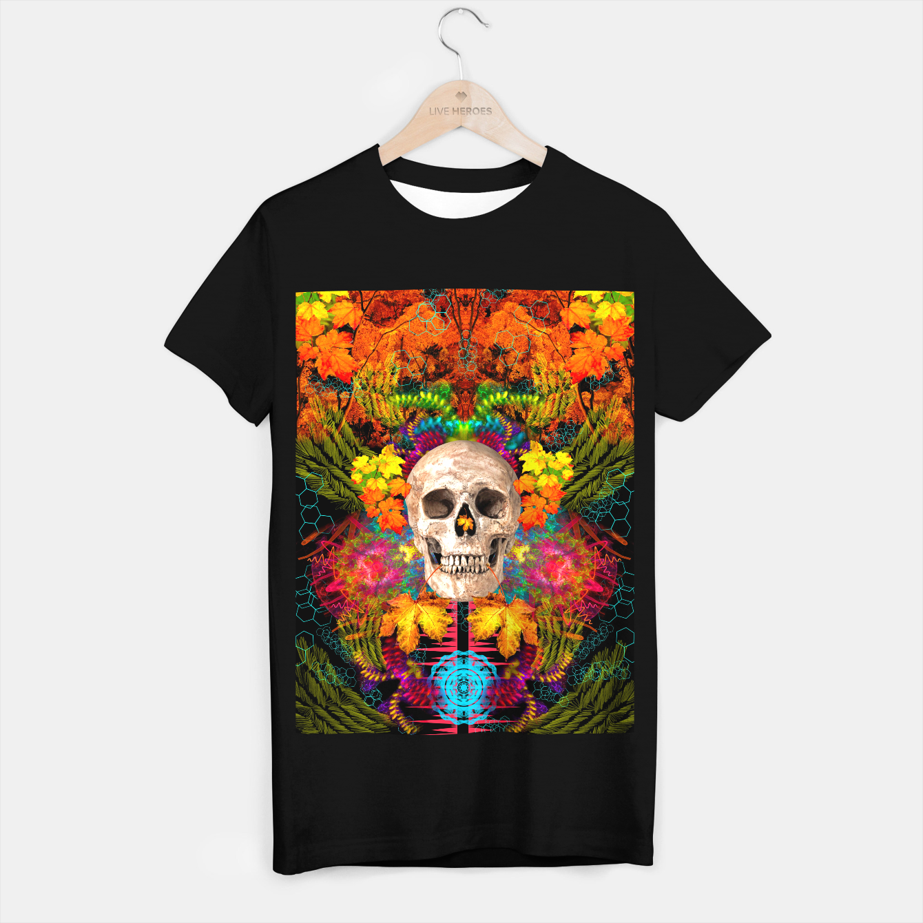 Image of Harvest Skull 1 T-shirt regular - Live Heroes