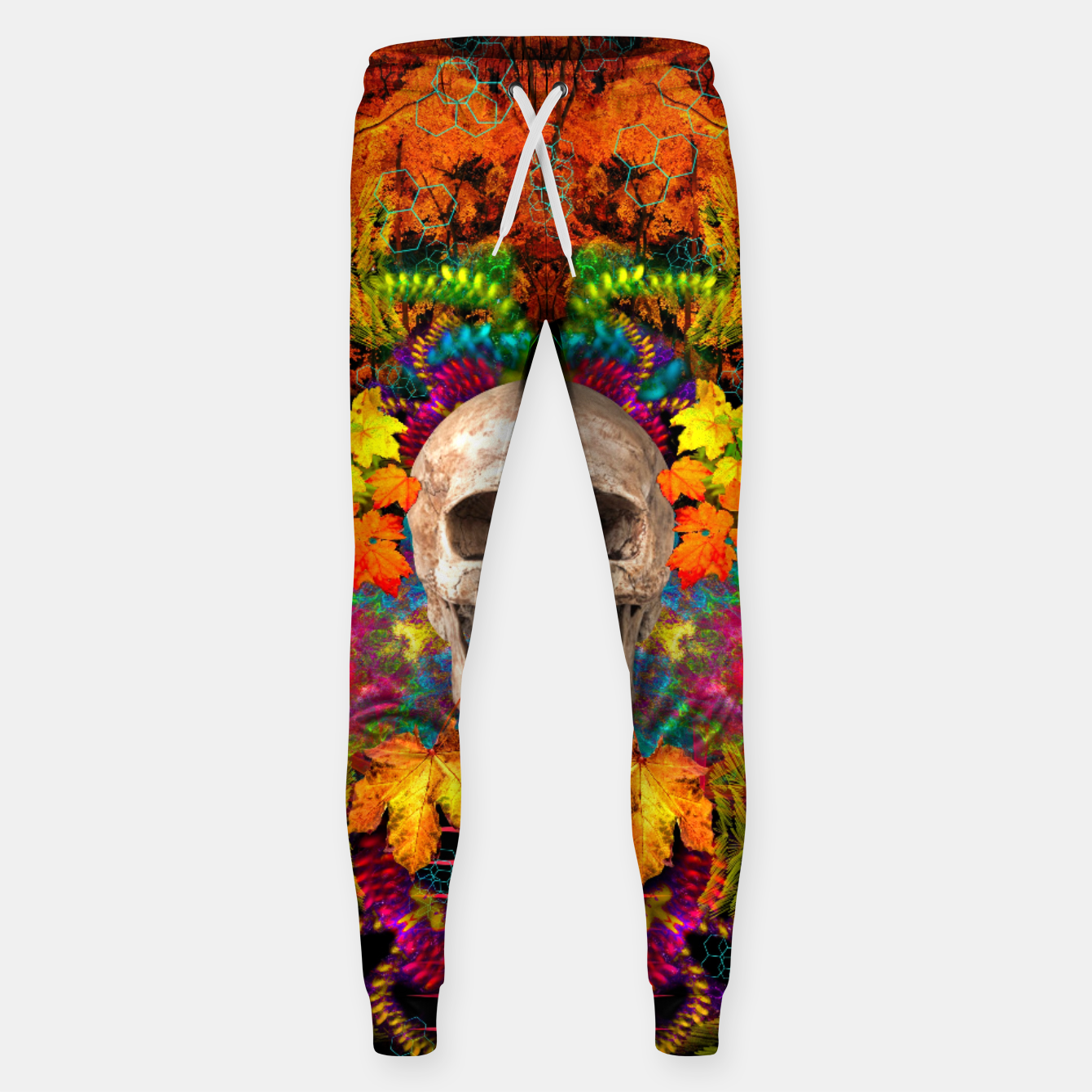 Image of Harvest Skull 1 Sweatpants - Live Heroes