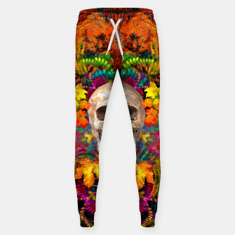 Thumbnail image of Harvest Skull 1 Sweatpants, Live Heroes