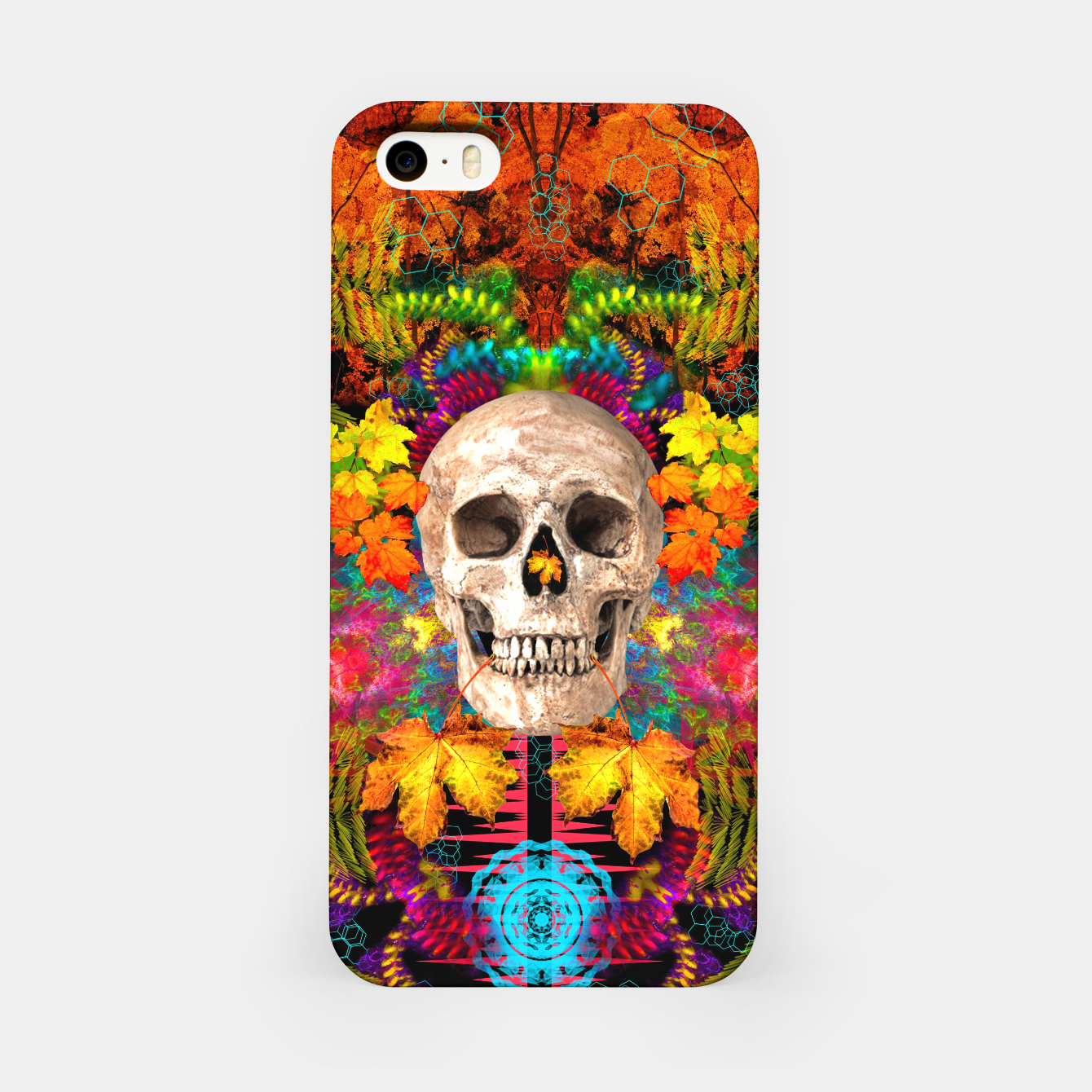 Image of Harvest Skull 1 iPhone Case - Live Heroes
