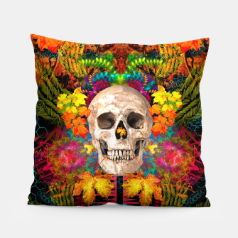 Thumbnail image of Harvest Skull 1 Pillow, Live Heroes