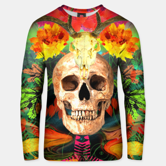 Thumbnail image of Harvest Skull 5 Unisex sweater, Live Heroes