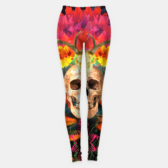 Thumbnail image of Harvest Skull 5 Leggings, Live Heroes
