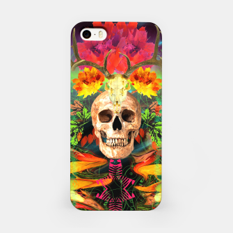 Miniatur Harvest Skull 5 iPhone Case, Live Heroes