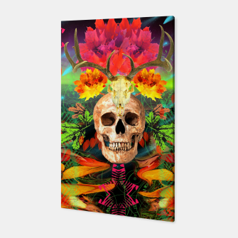 Thumbnail image of Harvest Skull 5 Canvas, Live Heroes