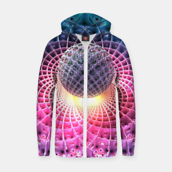 Thumbnail image of Eclectic Nucleus Zip up hoodie, Live Heroes