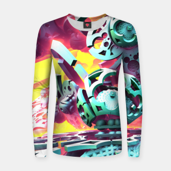 Thumbnail image of Slick Women sweater, Live Heroes