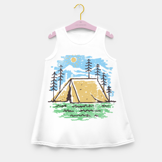 Miniatur Camper Girl's summer dress, Live Heroes